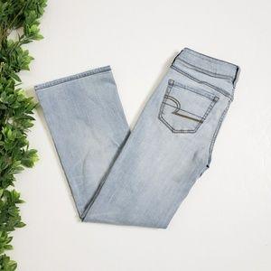 AMERICAN EAGLE Light Wash Favorite Boyfriend Jeans